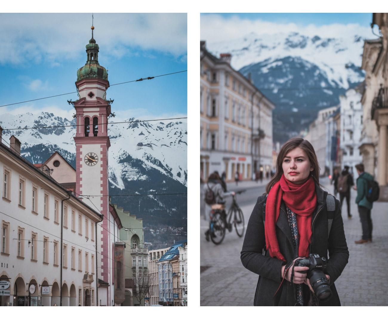 Austria Innsbruk Maria Theriesen Strasse