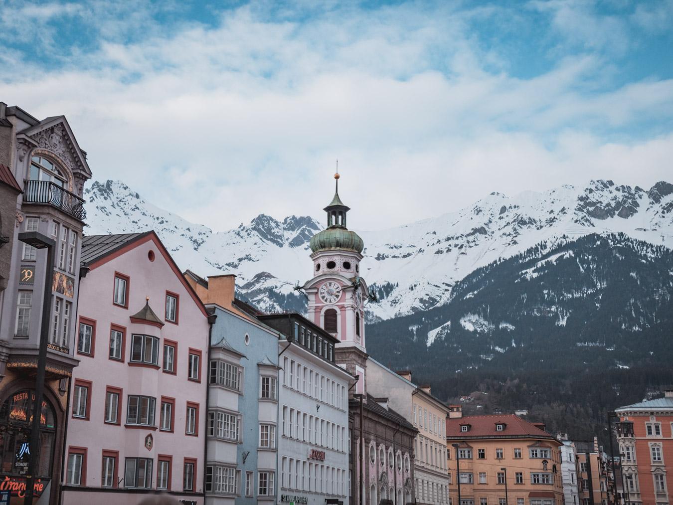 Innsbruck Maria Theriesen Strasse