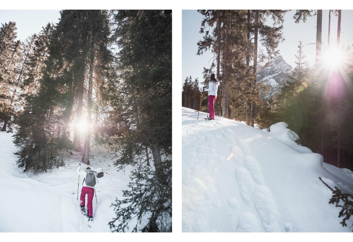 rakiety śnieżne serles stubai