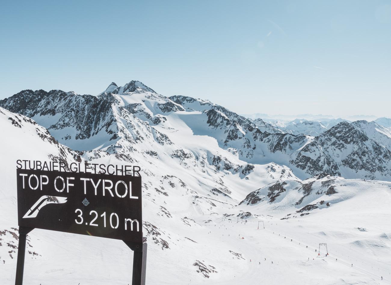 top of tyrol stubai