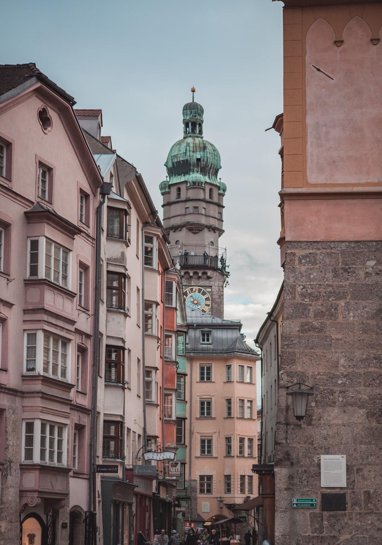wieża miejska innsbruck
