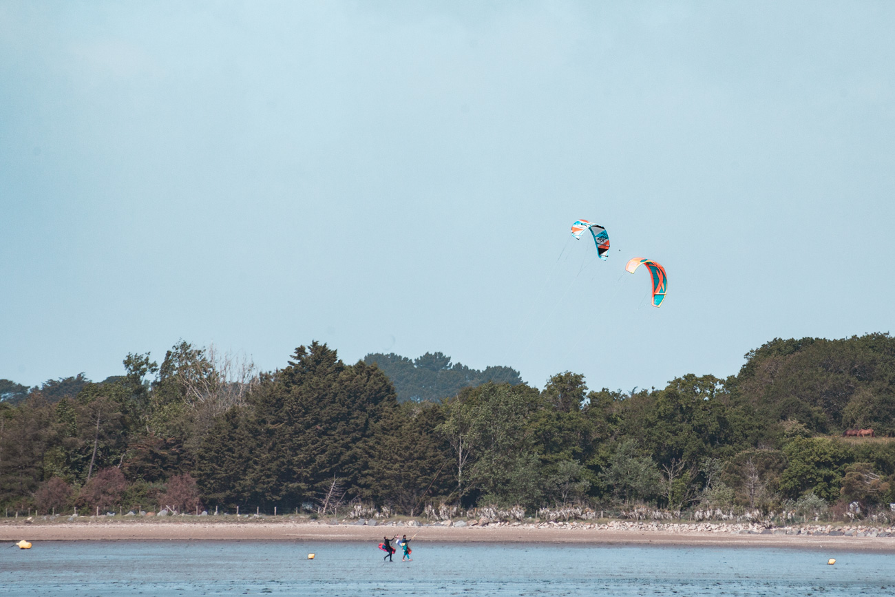 kite surfing pont mahe