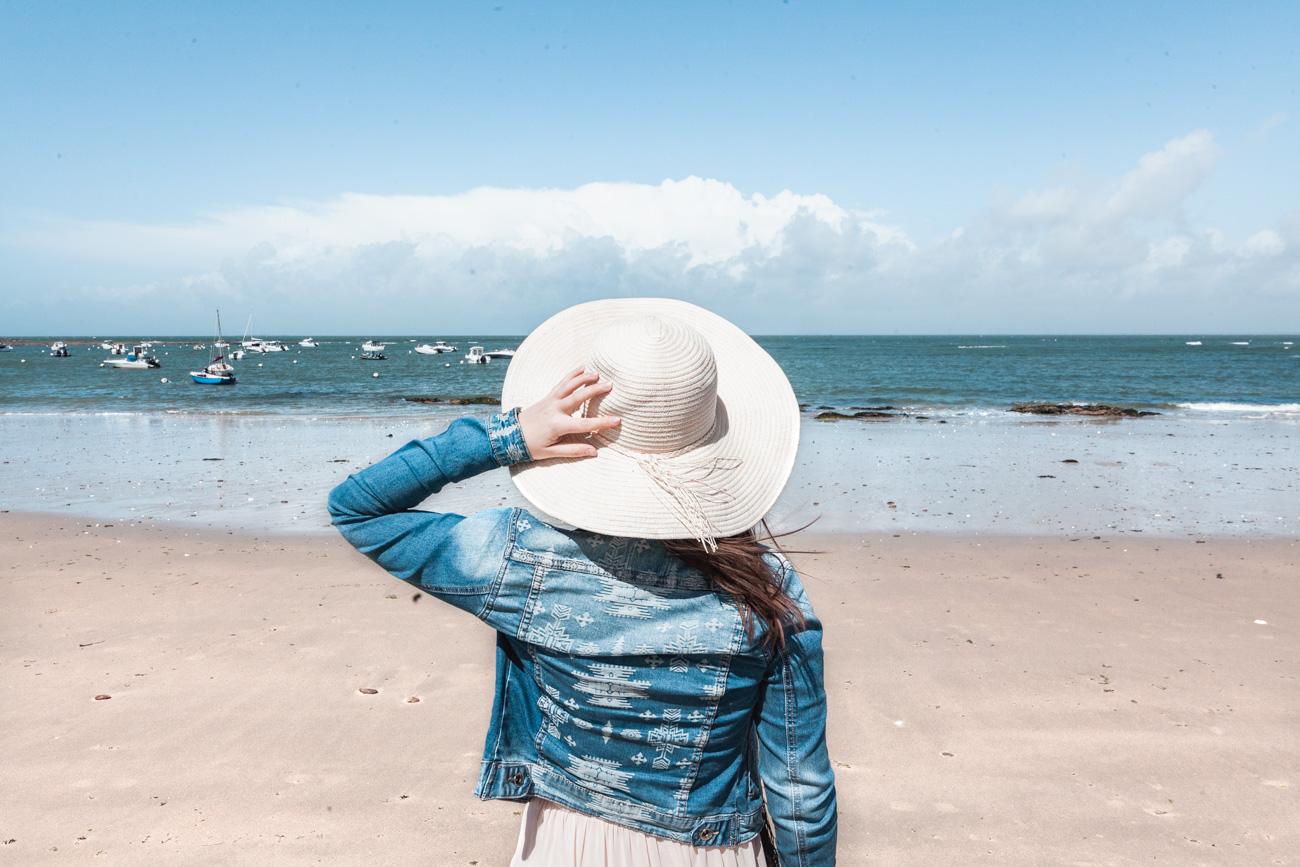 loire atlantique plage de quimiac