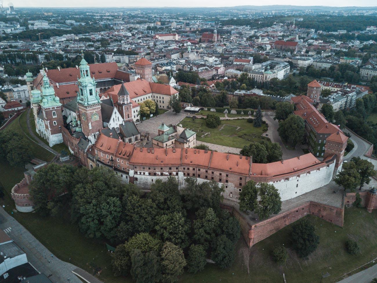 kraków atrakcje Wawel