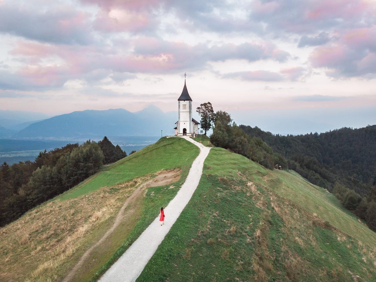 słowenia kranj jamnik