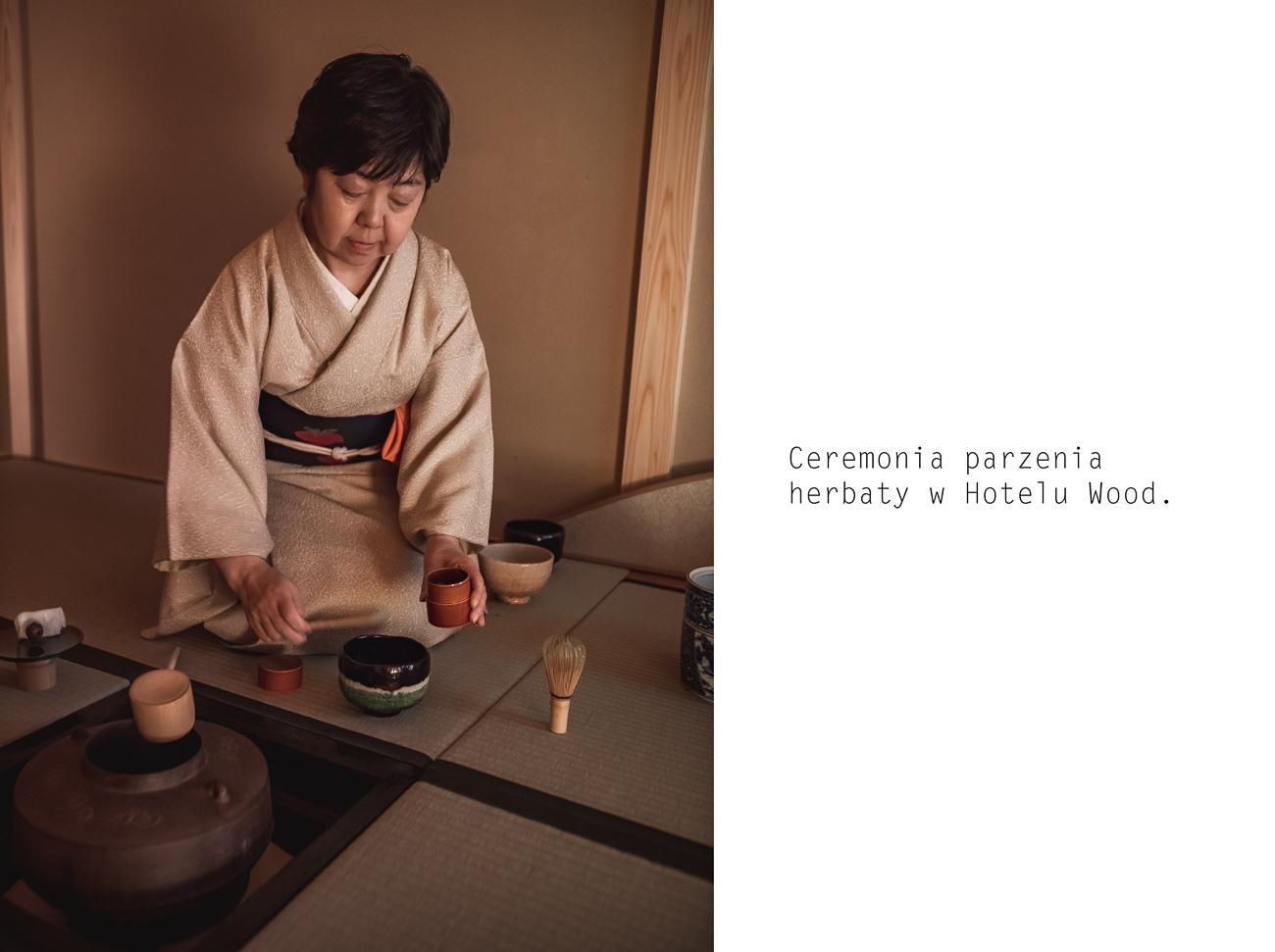 hotel wood takayama ceremonia parzenia herbaty