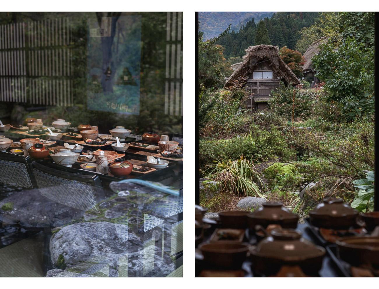 shirakawa-go mtasumune restauracja