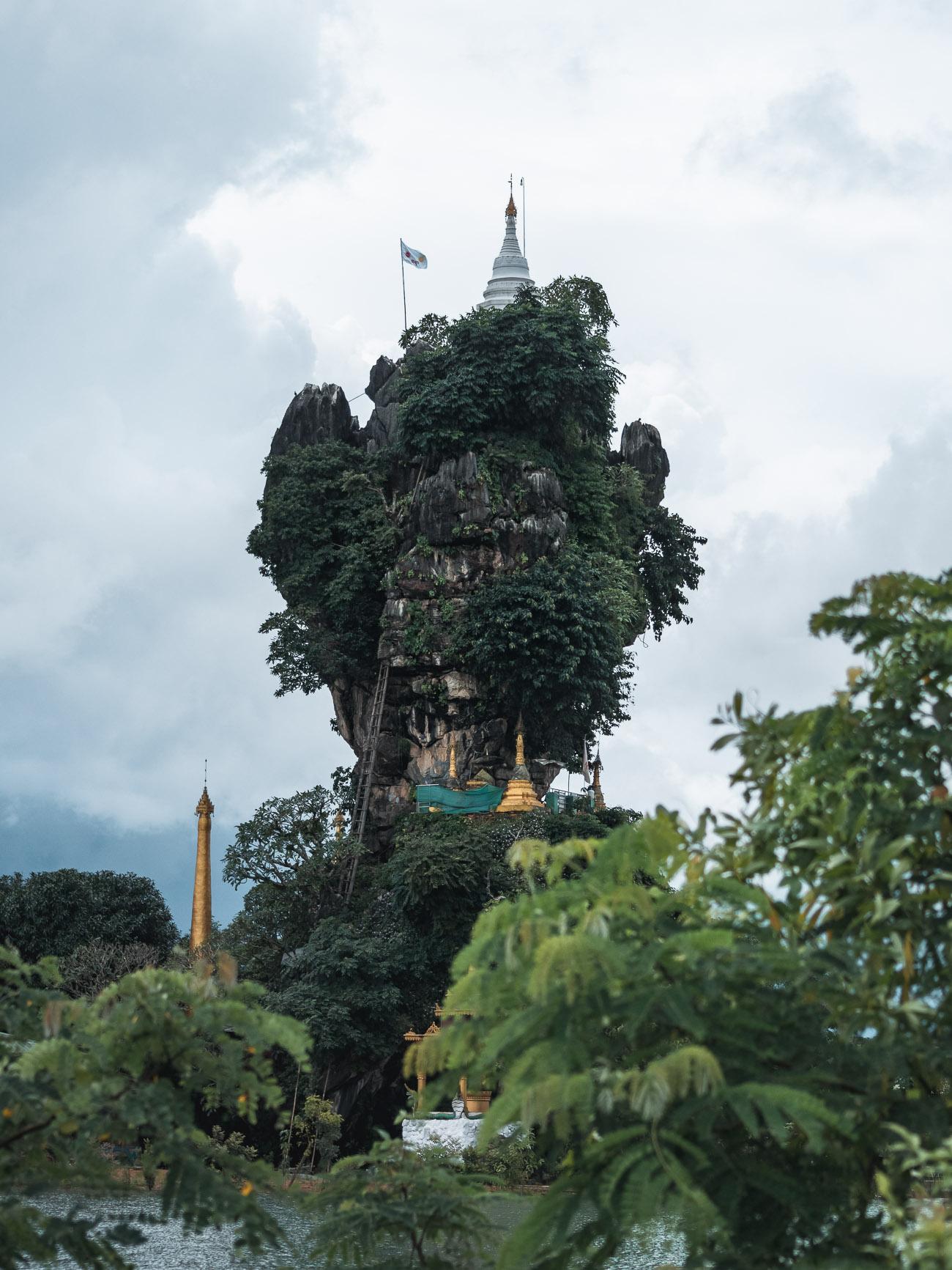 birma hpa-an kyauk-ka-lat pagoda