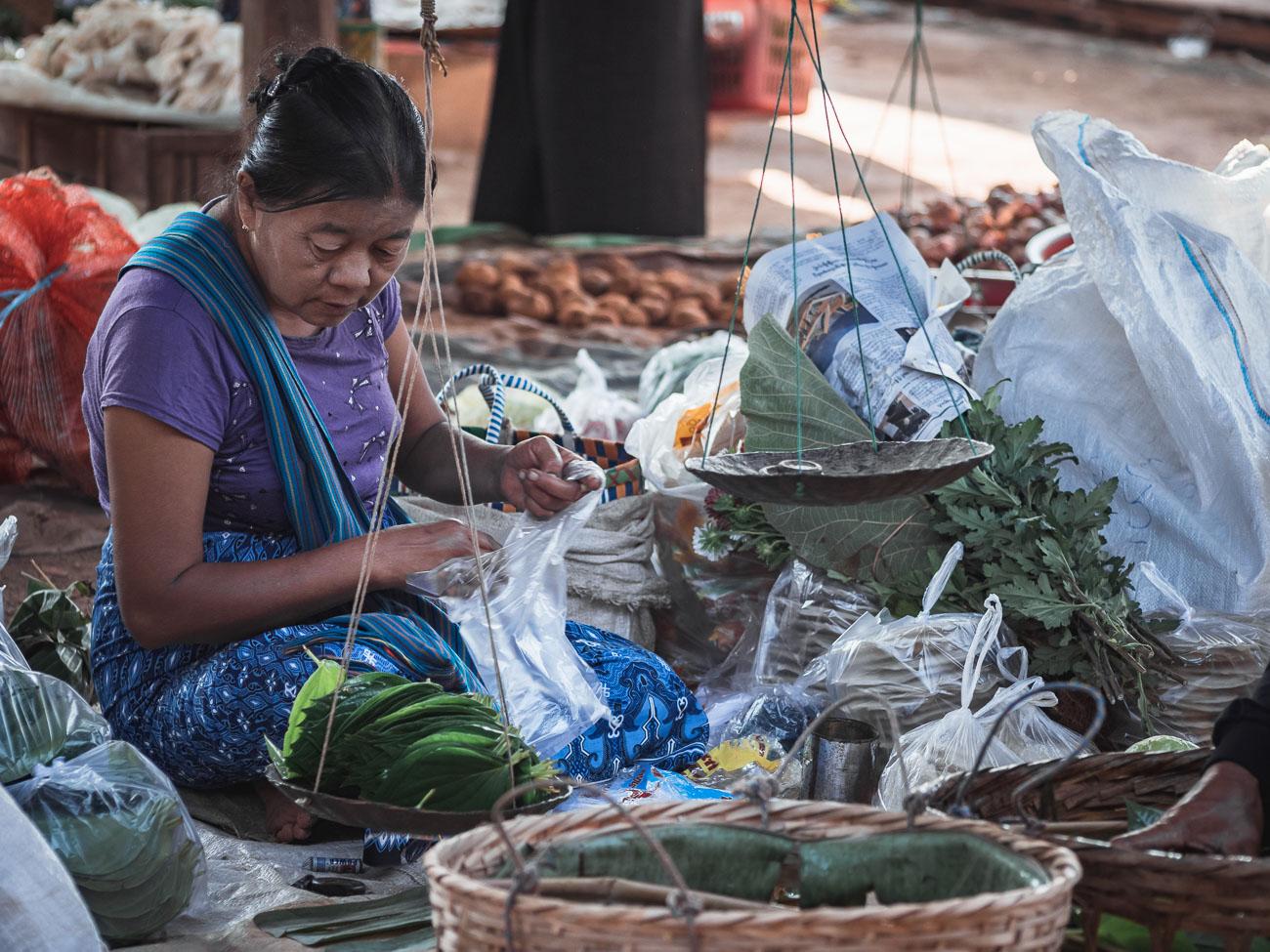 birma inle lake targ