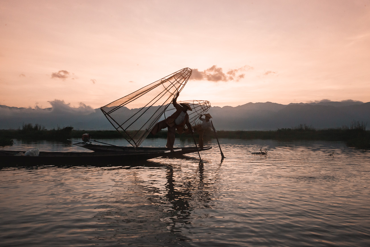 birma jezioro inle lake