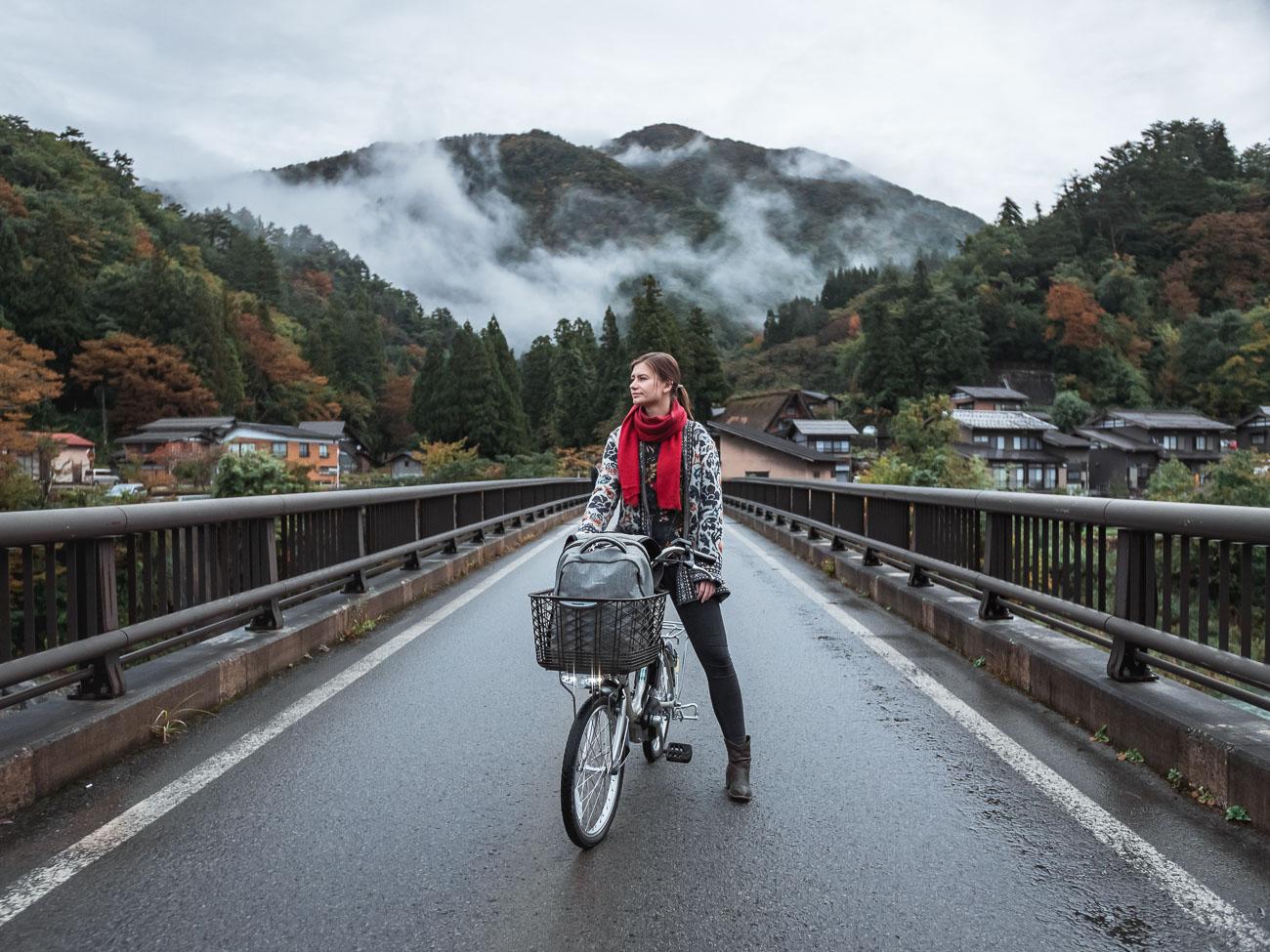 shirakawa-go japońskie alpy
