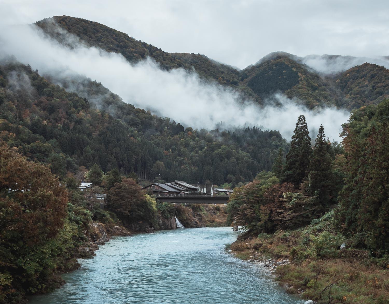 japonia shirakawa-go
